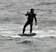 8th Nov 2019 - Kite boarder closeup.