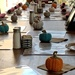 The knit pumpkins