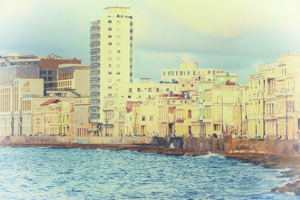 Old Havana Waterfront by pdulis