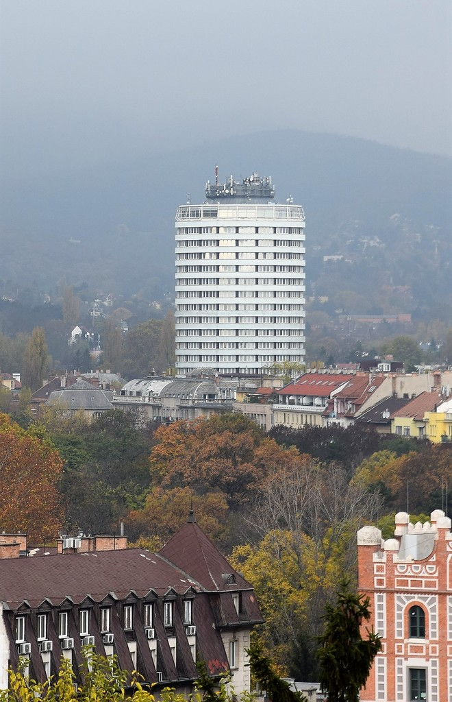 The building of the Budapest Hotel by kork