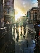11th Nov 2019 - Sunset in London street.