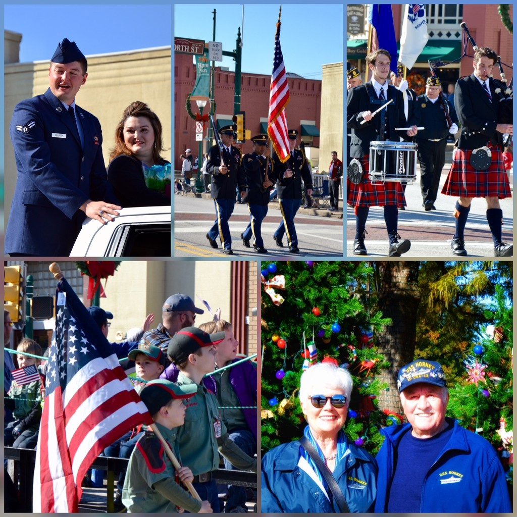 Our Veterans Day Parade by louannwarren