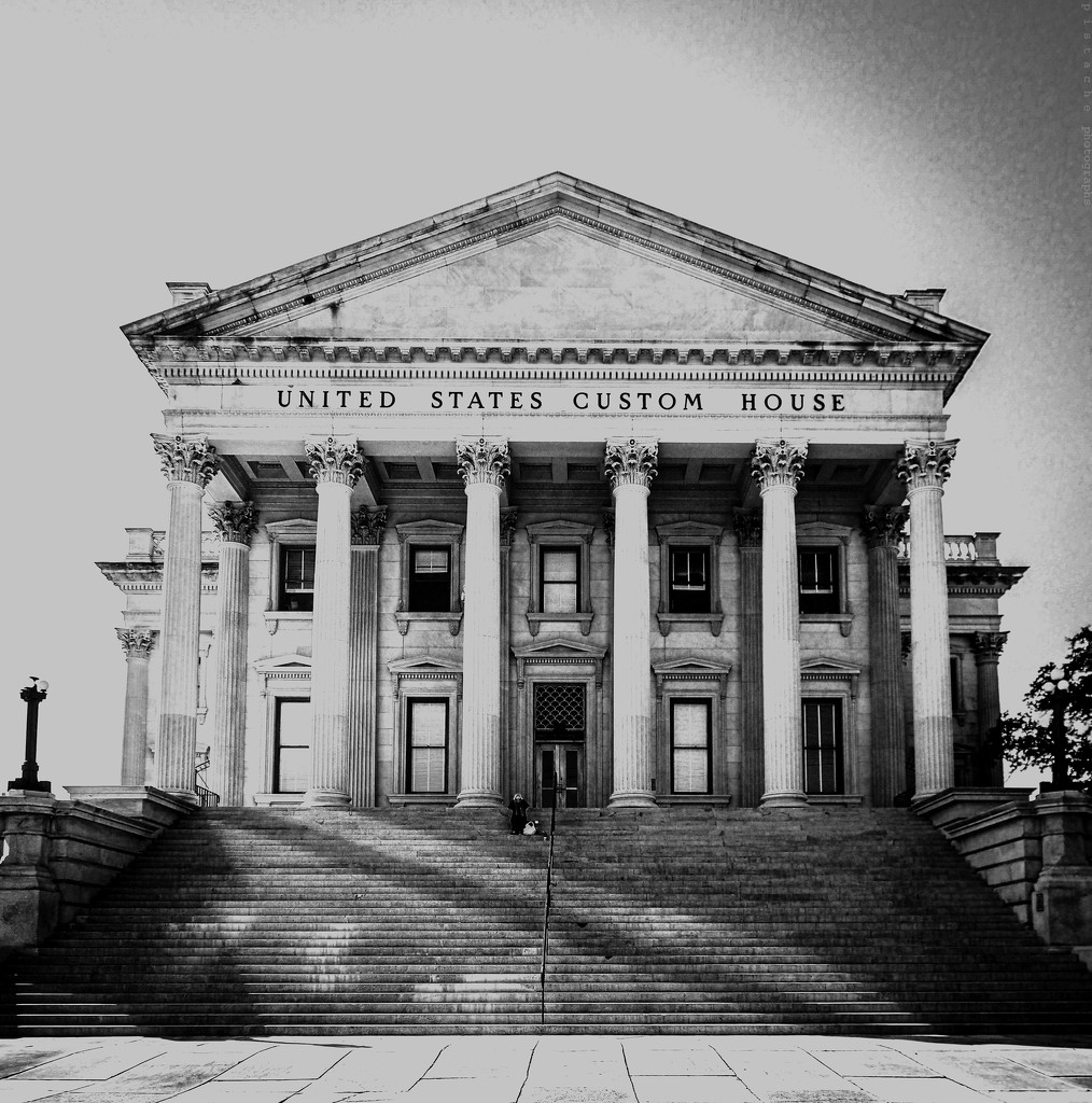 united states custom house by pistache