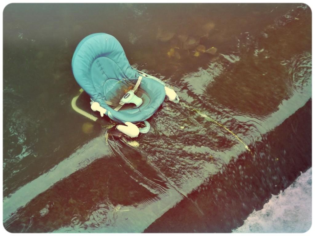 Baby water rider by ajisaac