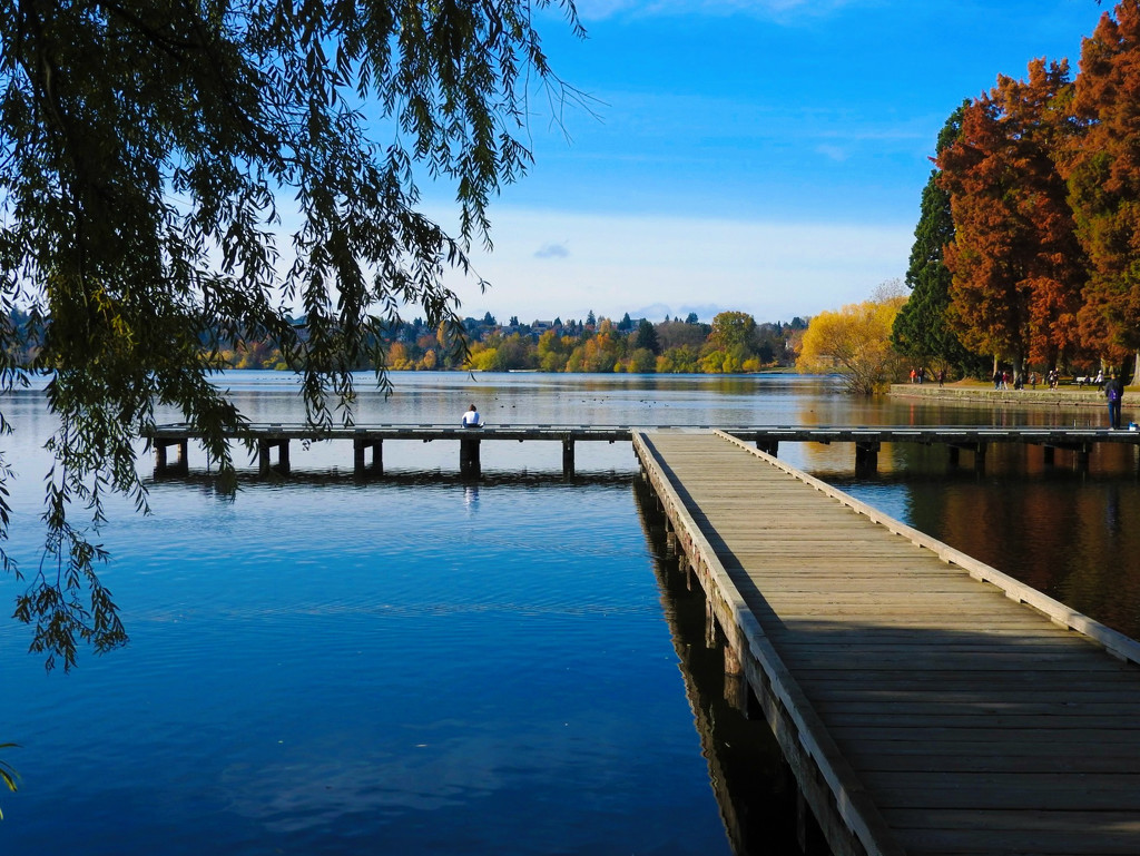 The Dock By The Lake by seattlite