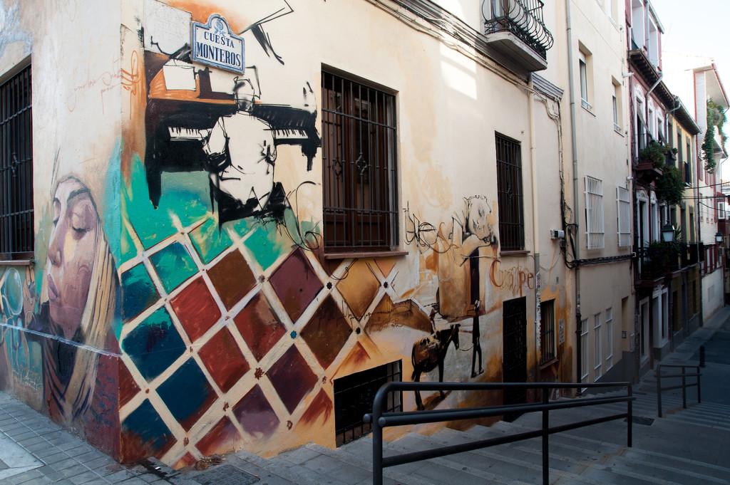 Granada street - around the corner  by brigette