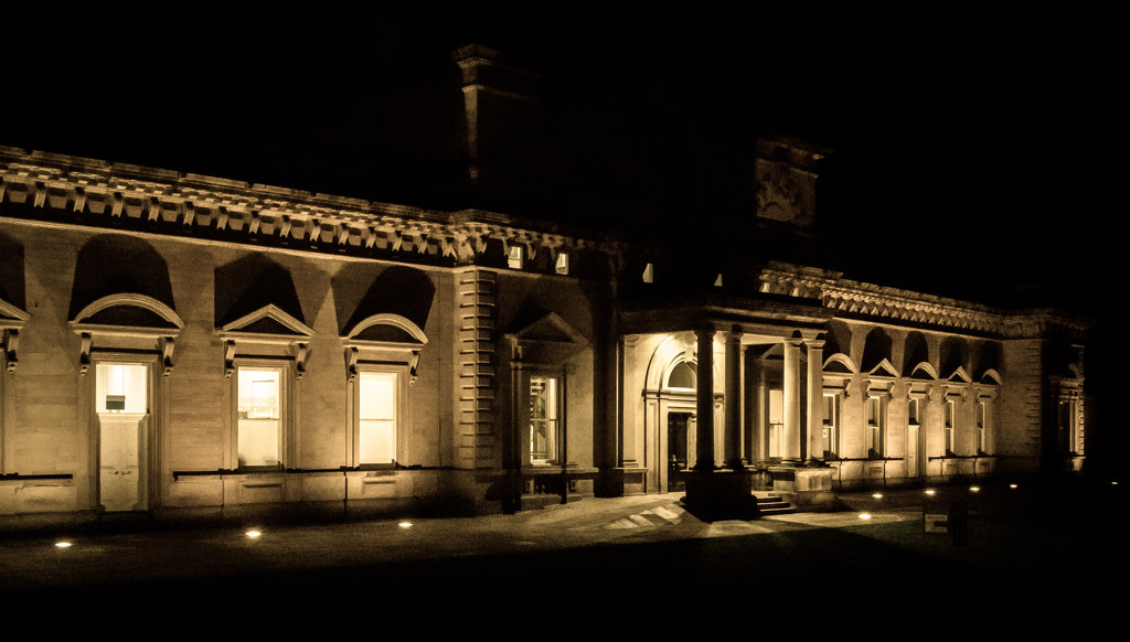 Halifax Old Station by peadar