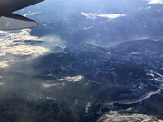 11th Nov 2019 - Alps from 35,000+ feet