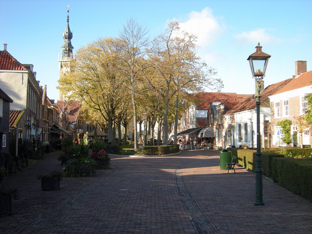 The city Veere on a nice sunny day by pyrrhula