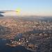 Marseille below us