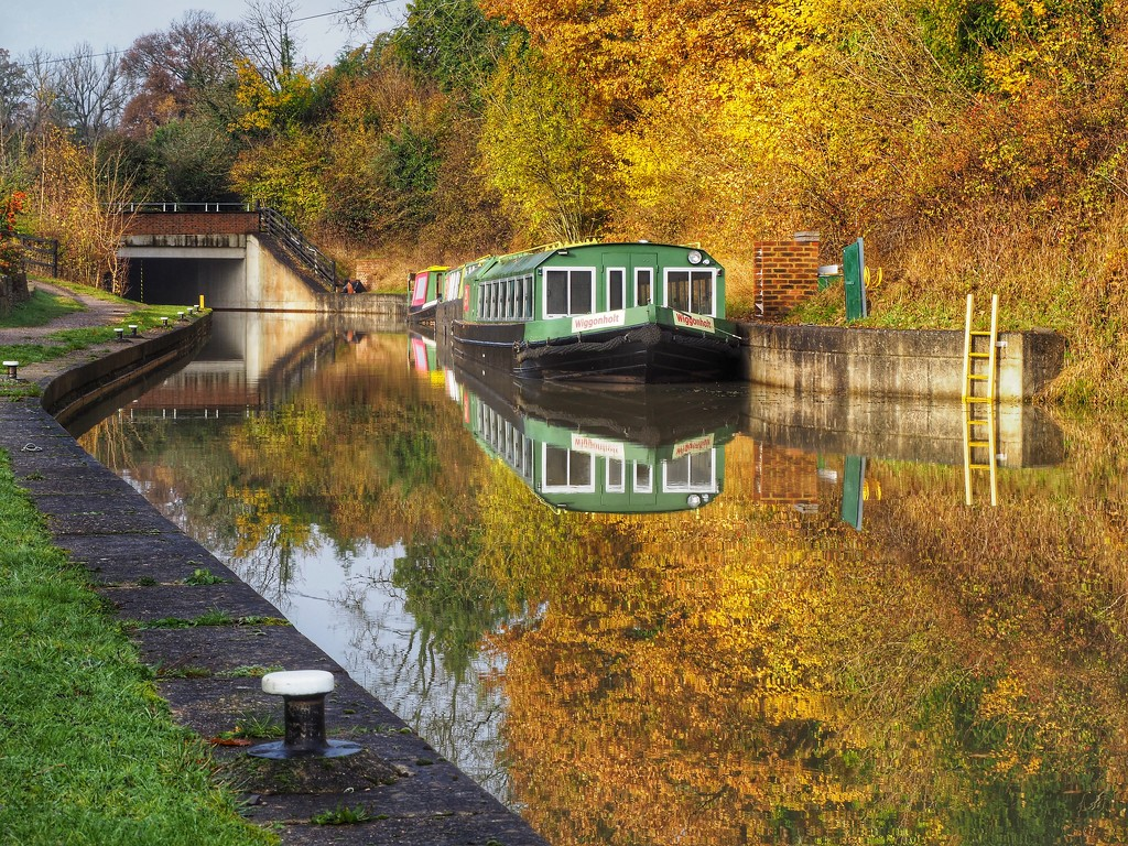 Morning at the canal  by suesmith
