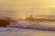 14th Nov 2019 - Backlit Surf As Sun Goes Down