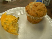 14th Nov 2019 - Breakfast Casserole and Banana Nut Muffin