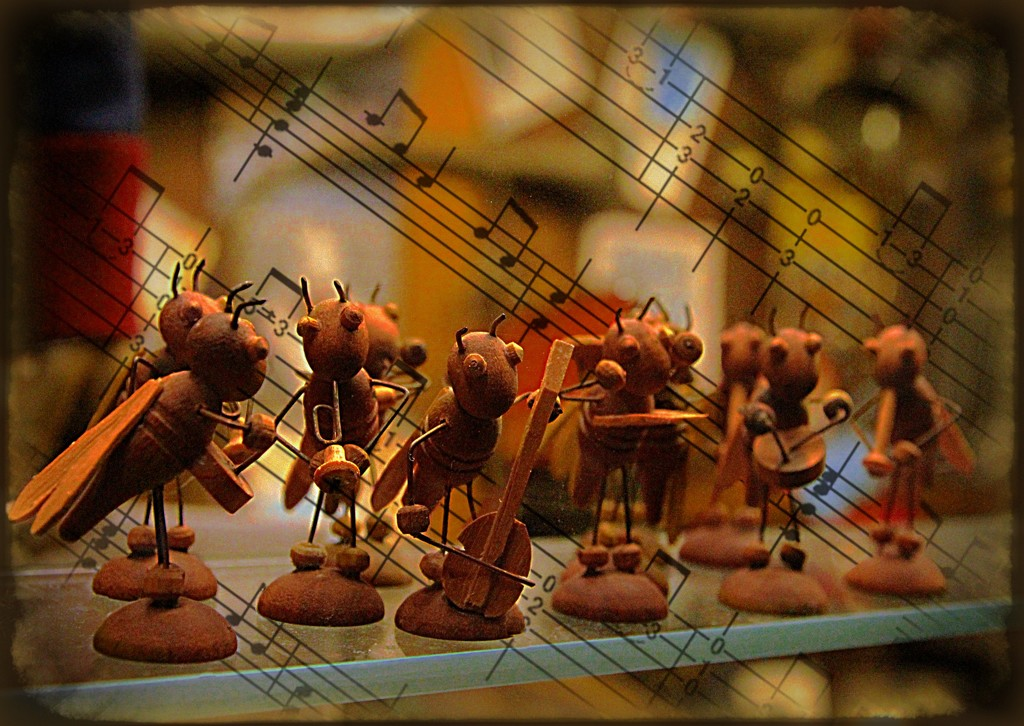 Orchestra of Ants by olivetreeann
