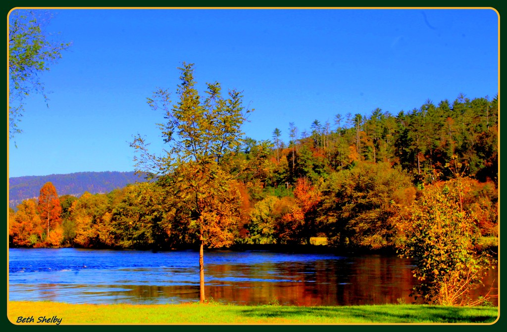 Another Perfect Fall Day by vernabeth