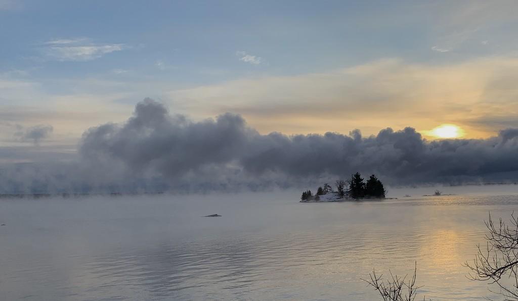 Island Sunrise  by radiogirl