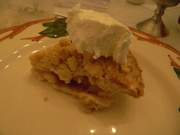 15th Nov 2019 - Dutch Apple Pie Slice