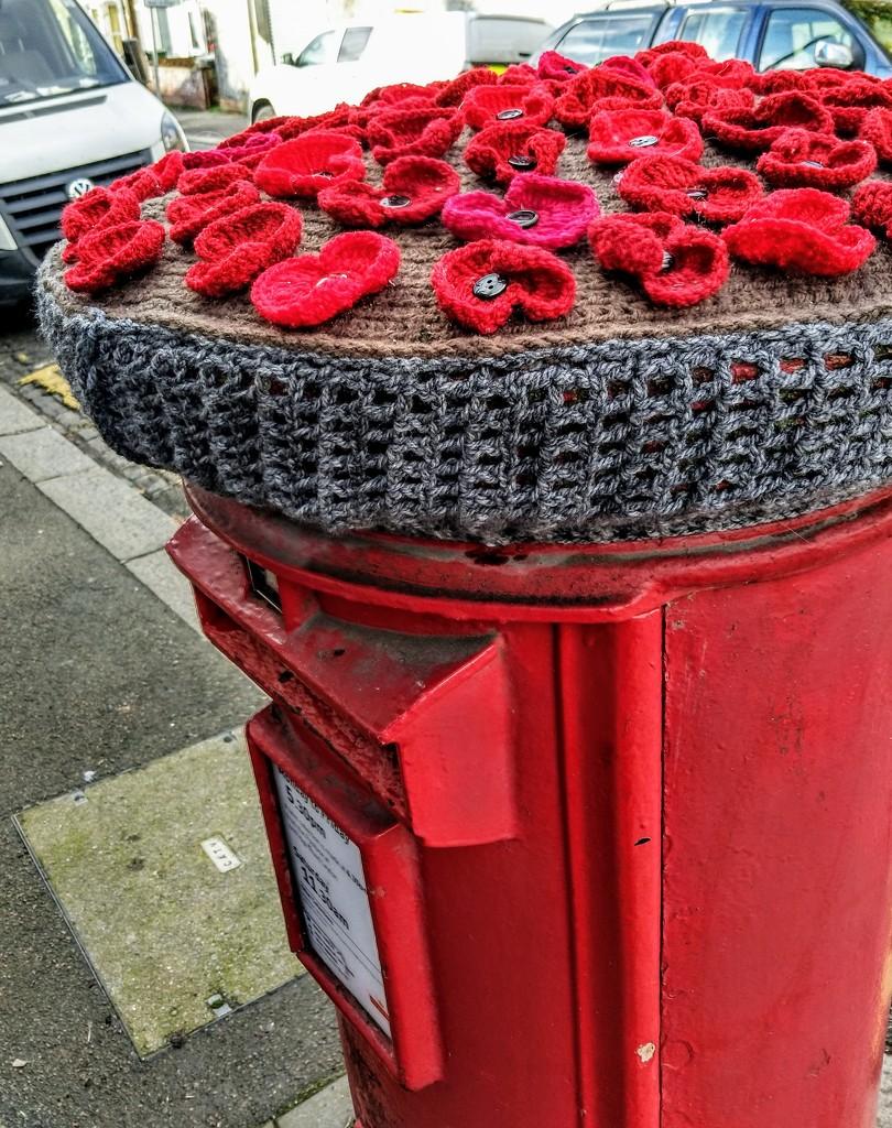Remembrance pillar box by boxplayer