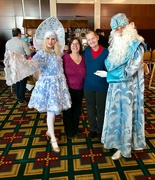 17th Nov 2019 - At the X-mas Fair with Father Frost and his helper Snowflake