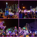The lantern parade and Xmas light switch on