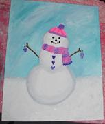 16th Nov 2019 - My snowman!