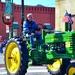 A 1948 John Deere tractor