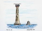 14th Nov 2019 - Eddystone Lighthouse