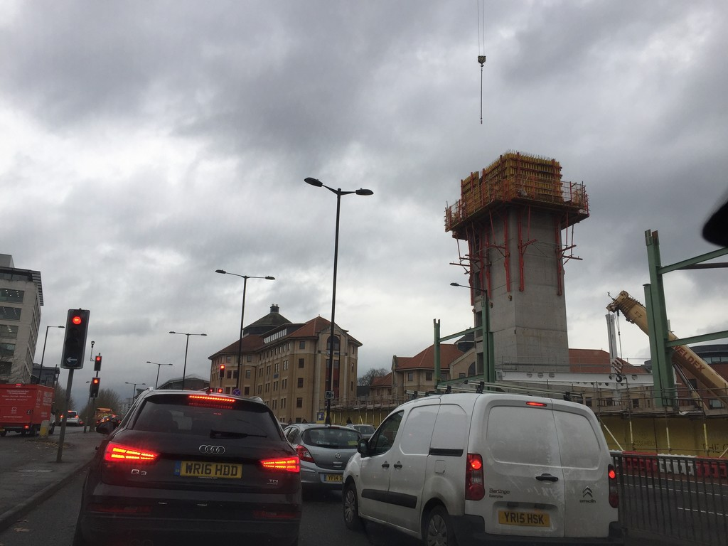 Construction by daffodill