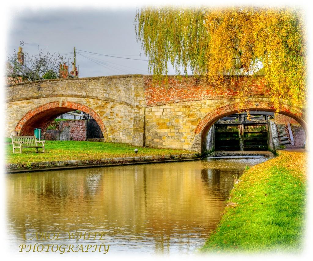 Bridge And Lock Gates,Grand Union Canal,Stoke Bruerne by carolmw
