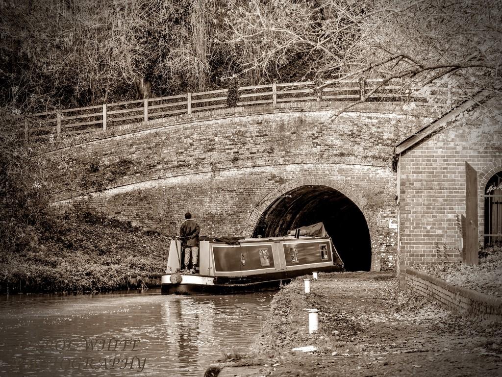 Blisworth Tunnel,Grand Union Canal by carolmw