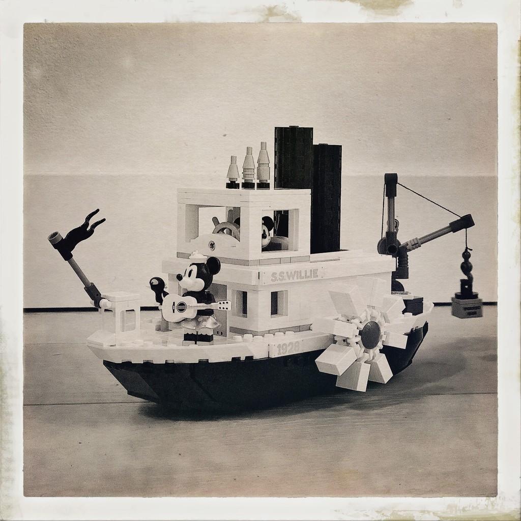 Steamboat Willie by mastermek