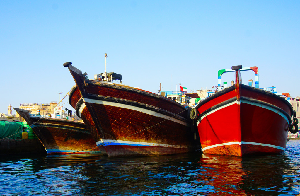Three Boats Dubai by fr1da