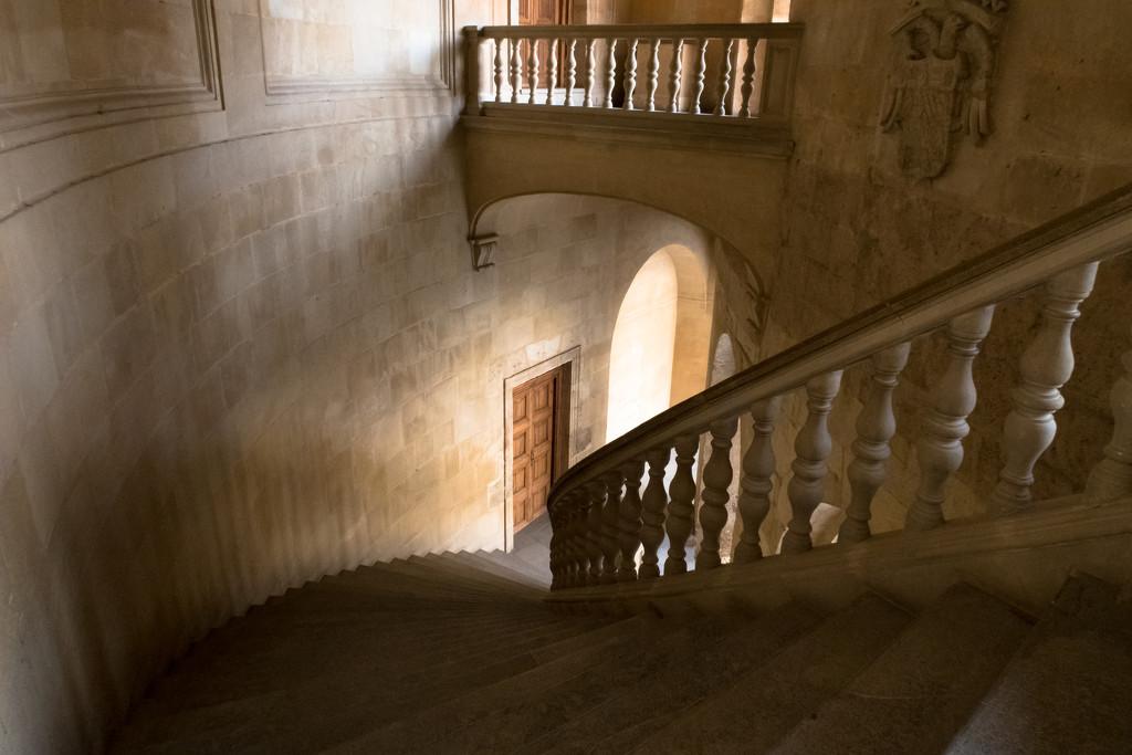 Palace stairs by peadar