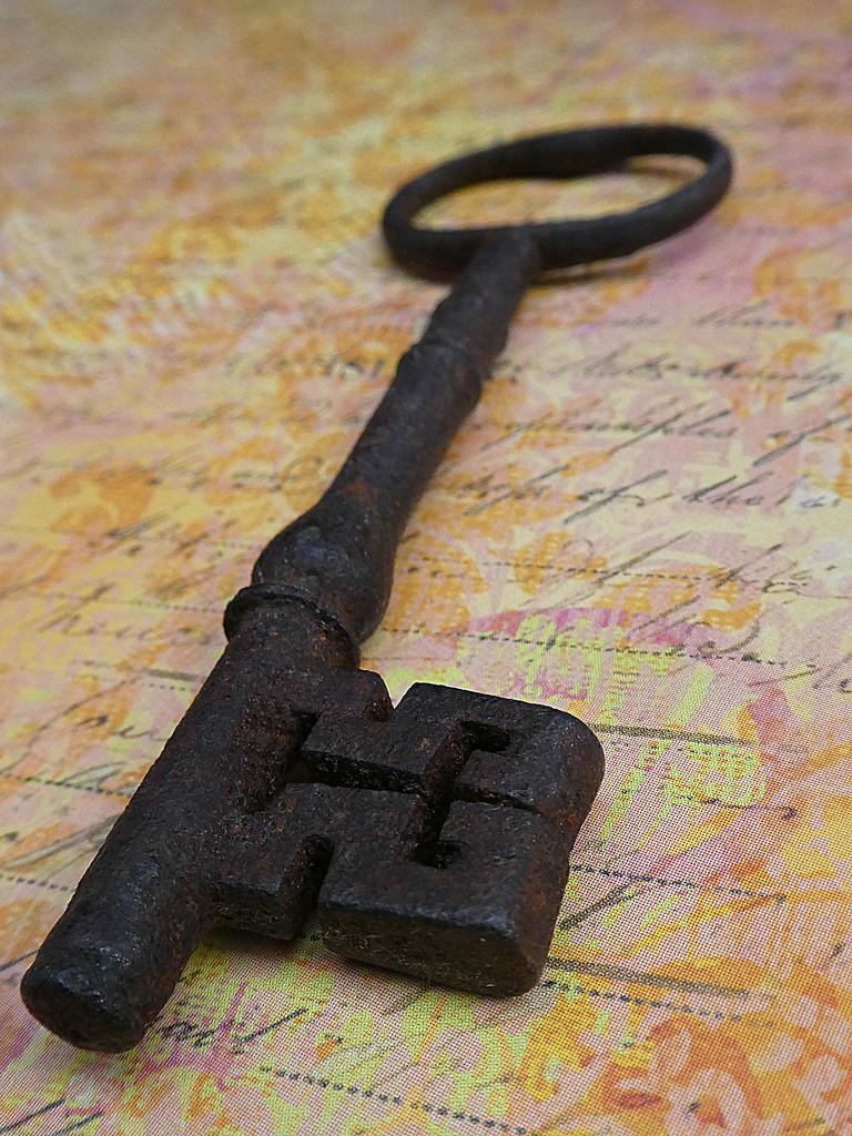 Old Key. by wendyfrost