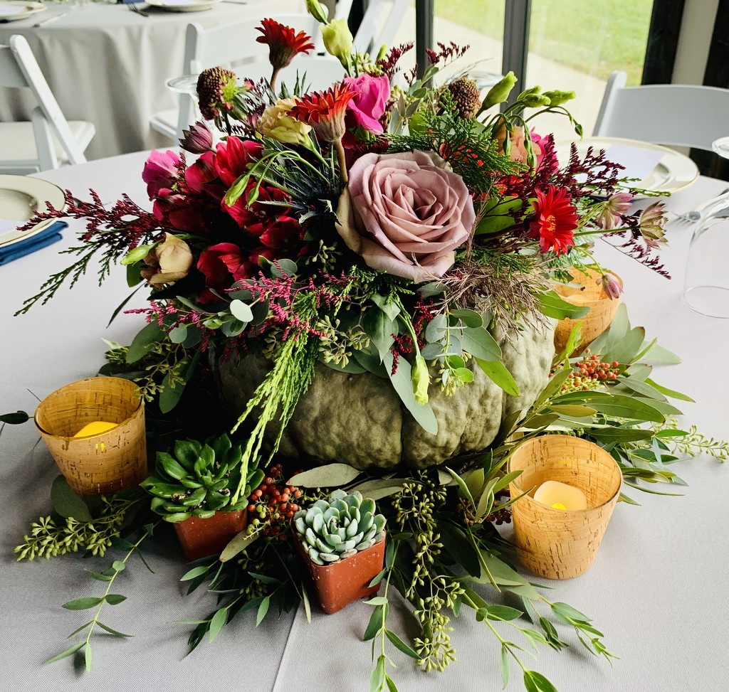 Wedding Flower Arrangement  by kathyladley