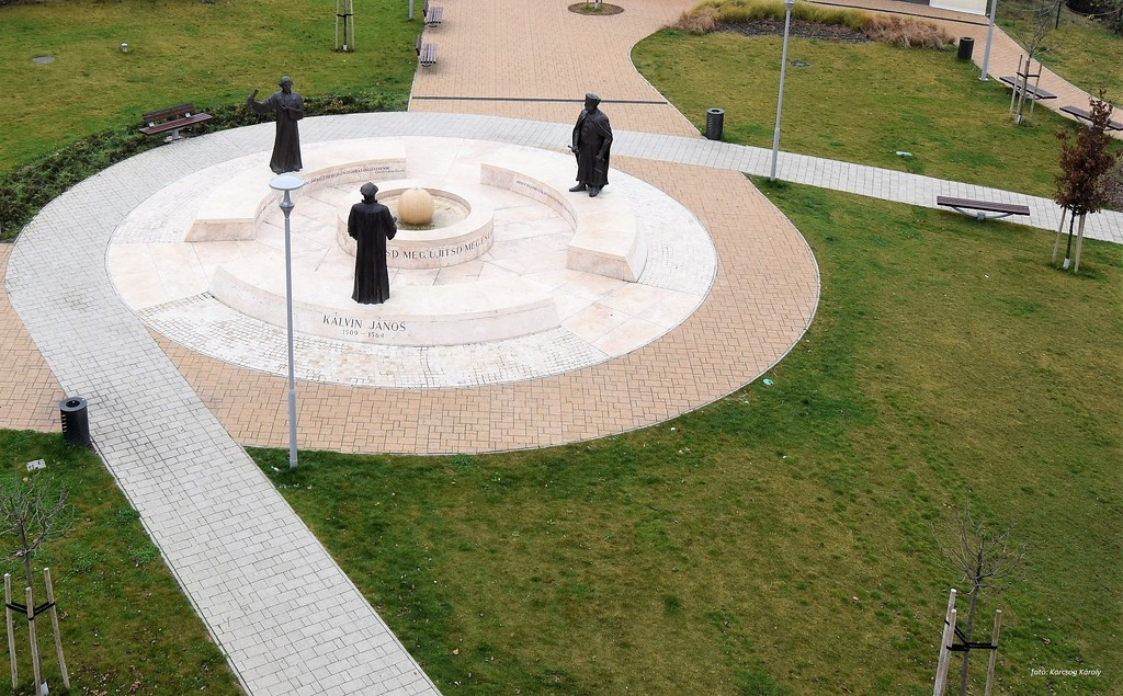Monument to the 500th Anniversary of the Reformation by kork