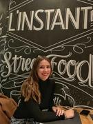 26th Nov 2019 - Léa at the restaurant.