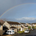 Rainbow over the rooftops