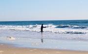 26th Nov 2019 - Fisherman on the beach