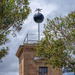 Telegraph station and time-ball