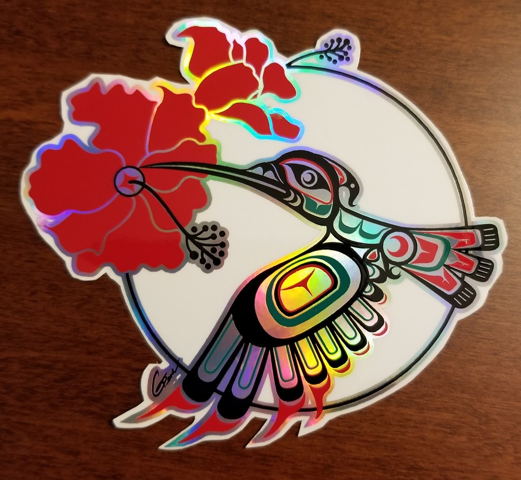 Outrigger Paddle Sticker by kimmer50