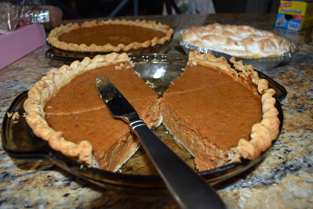 Who's been sampling the pie? by homeschoolmom