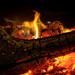 Log Fire...