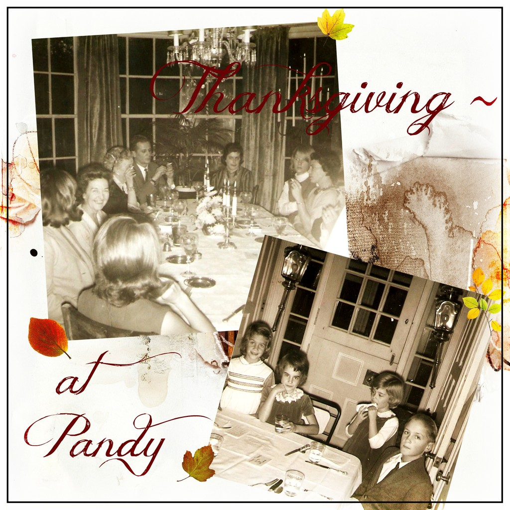 Memories of Thanksgiving at Pandy by olivetreeann