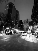29th Nov 2019 - Fourth Street Promenade in Black and White