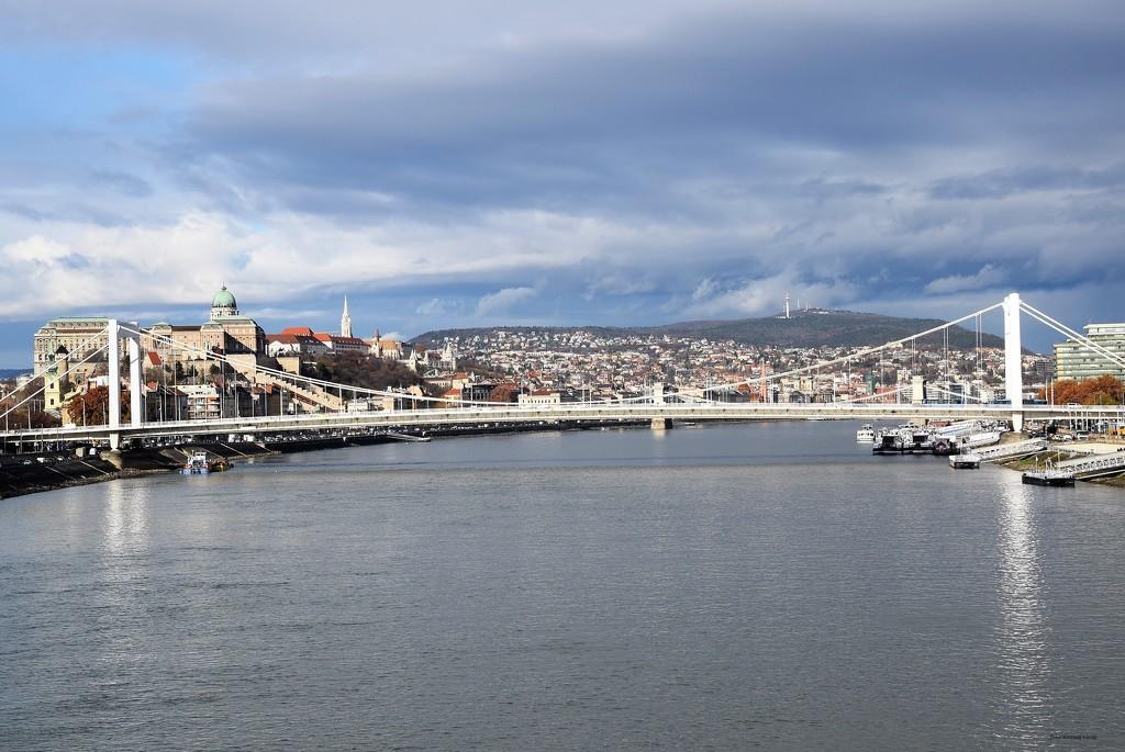 Budapest skyline by kork