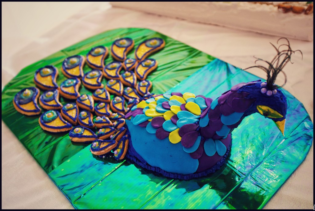 Gingerbread Peacock by ramr