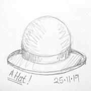 25th Nov 2019 - A Hat