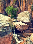 2nd Dec 2019 - Quaint little waterfall
