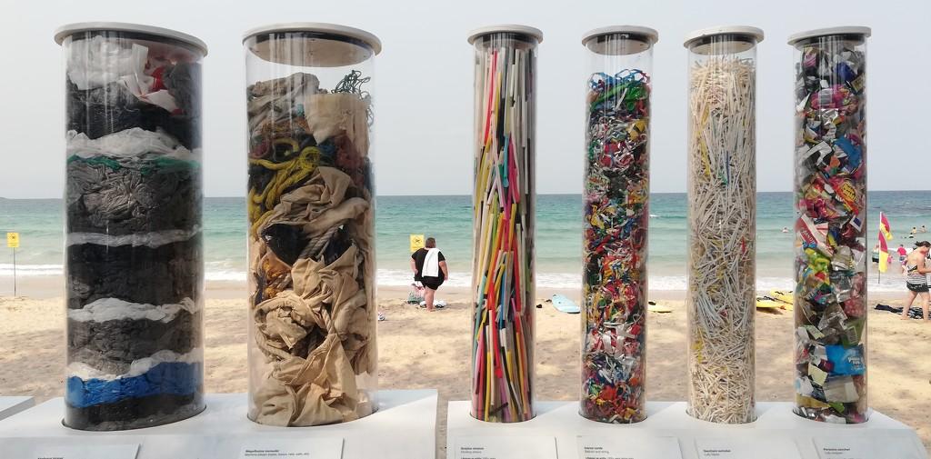 Plastic waste  by julianneovie
